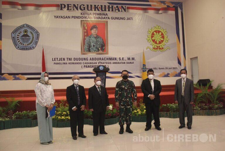 Letjen TNI Dudung Abdurachman Dikukuhkan Sebagai Ketua Pembina YPSGJ