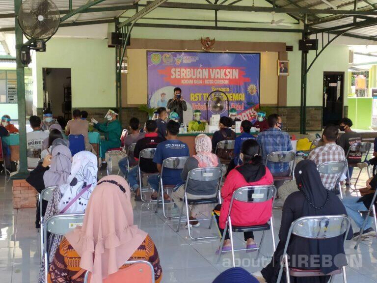 Selama 5 Hari, Kodim 0614 Kota Cirebon Layani Vaksinasi Covid-19