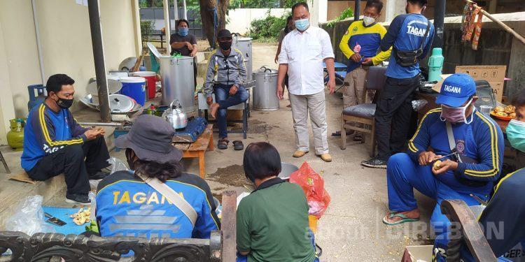 Pemda Kota Cirebon Dirikan Dapur Umum Untuk Warga Isoman
