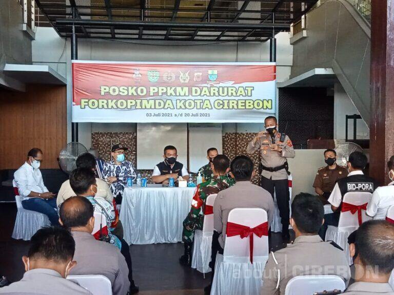 Penutupan dan Penyekatan Jalan di Kota Cirebon Diperluas
