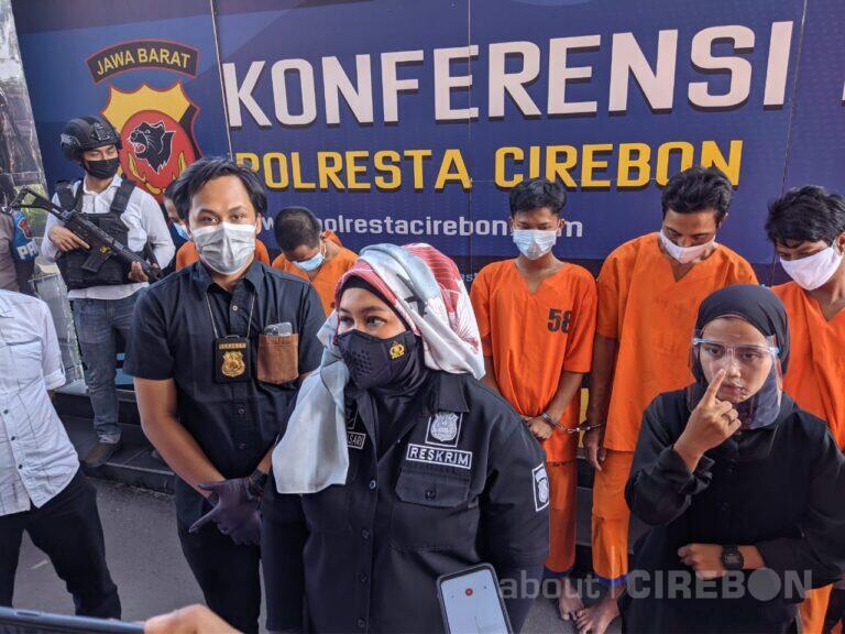 Polresta Cirebon Ungkap 4 Kasus Tindak Pidana, 14 Tersangka Diamankan