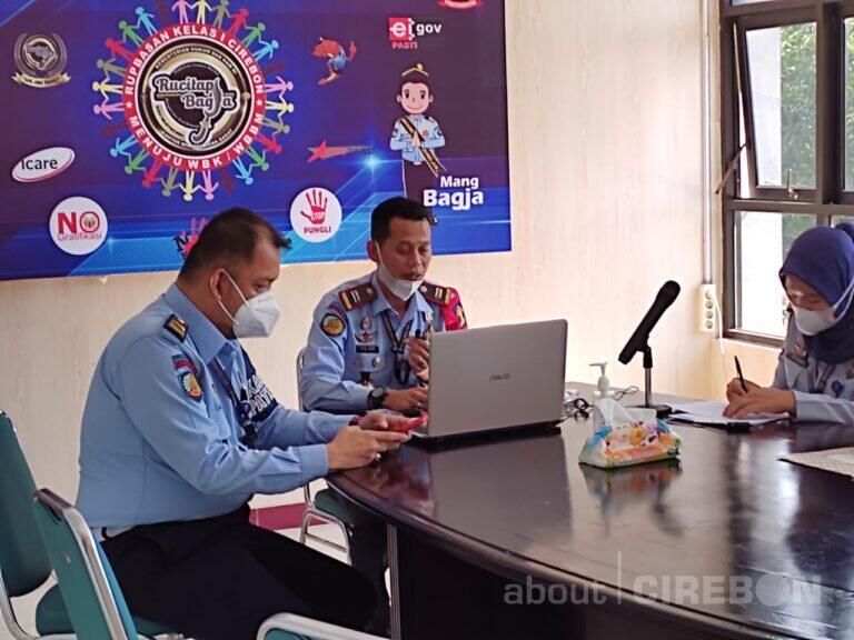 Rupbasan Cirebon Luncurkan Aplikasi Cekatan Secara Virtual