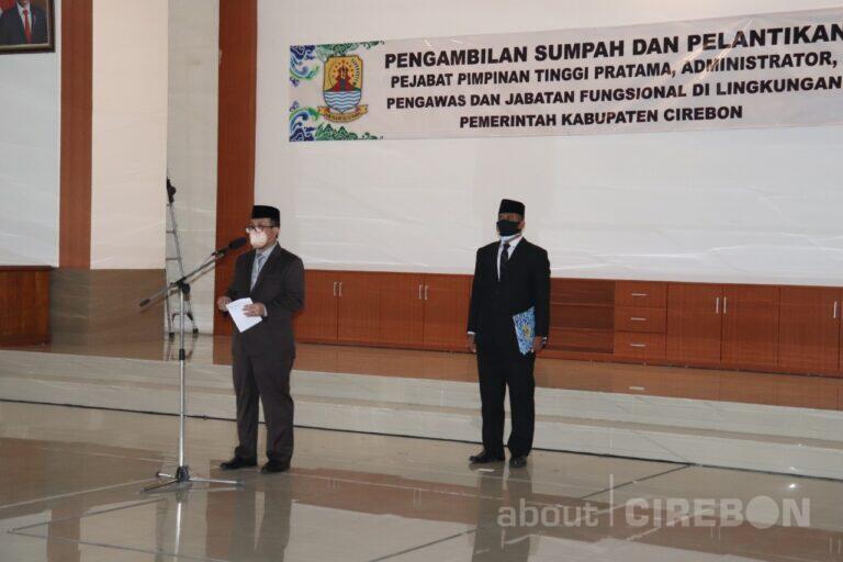 600 PNS di Kabupaten Cirebon Dilantik