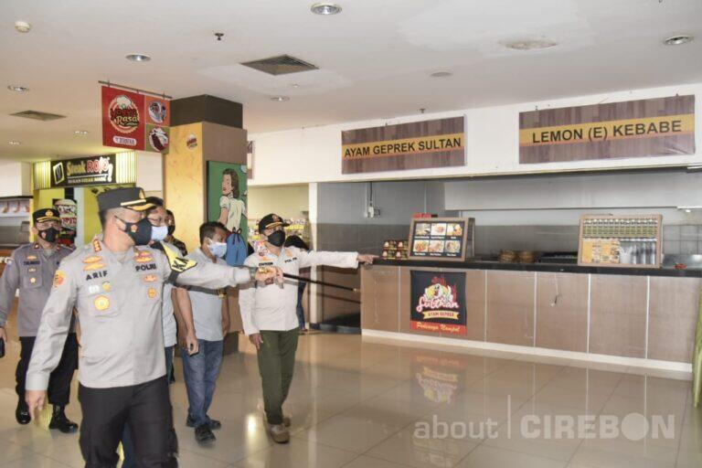 Kapolresta Cirebon Ajak Pengelola Supermarket dan Pedagang Pasar Tradisional Patuhi Aturan PPKM Darurat