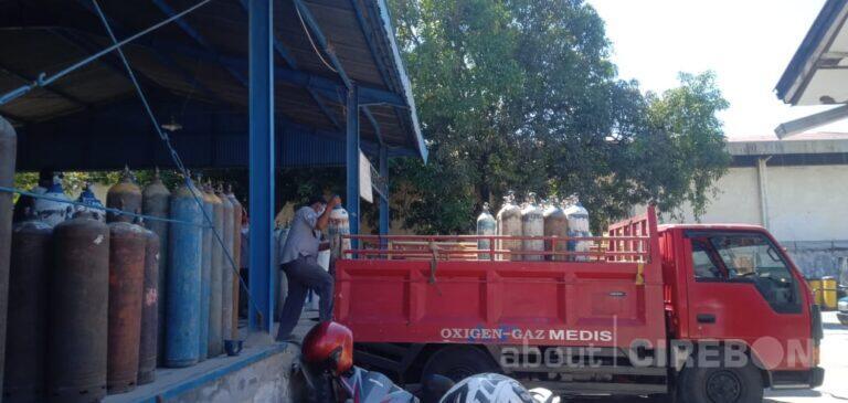Permintaan Oksigen di Kota Cirebon Alami Peningkatan Namun Stok Masih Aman
