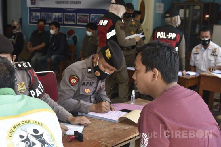 Warga Terjaring Operasi Yustisi Tidak Pakai Masker, Kena Denda Rp 30ribu