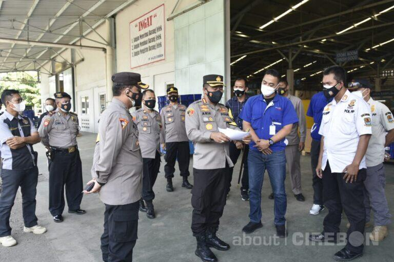 Pantau Sektor Industri, Kapolresta Cirebon Ajak Sukseskan PPKM Darurat