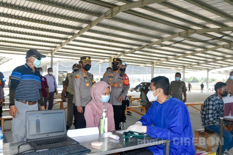 Patuh PPKM Darurat, Polresta Cirebon Beri Apresiasi Vaksinasi Gratis bagi Perusahaan