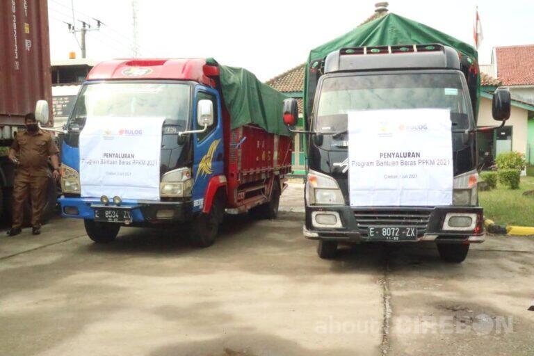 24.470 KPM di Kota Cirebon Terima Bantuan Sosial Beras