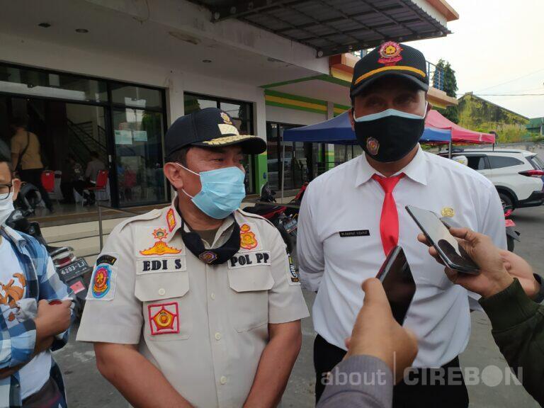 Ratusan Pelanggar Terkena Sanksi dan Denda Selama PPKM Darurat di Kota Cirebon