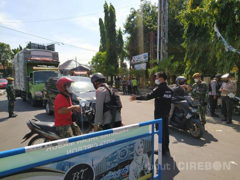 Masuk Kota Cirebon Harus Tunjukan Kartu Vaksin dan PCR/Antigen Negatif