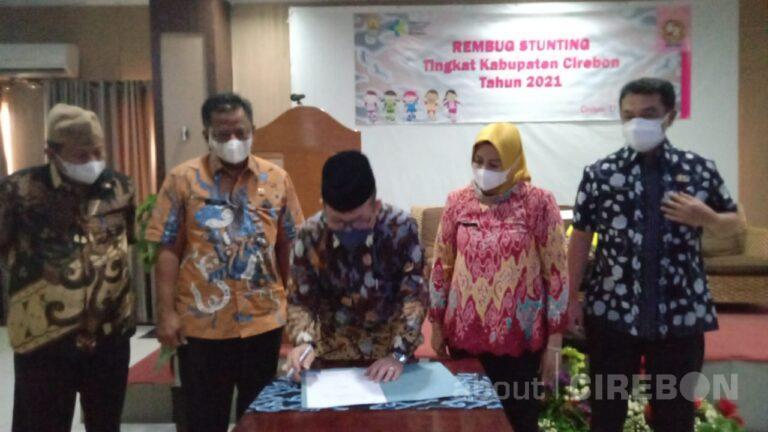 Pemkab Cirebon Targetkan Penurunan Angka Stunting