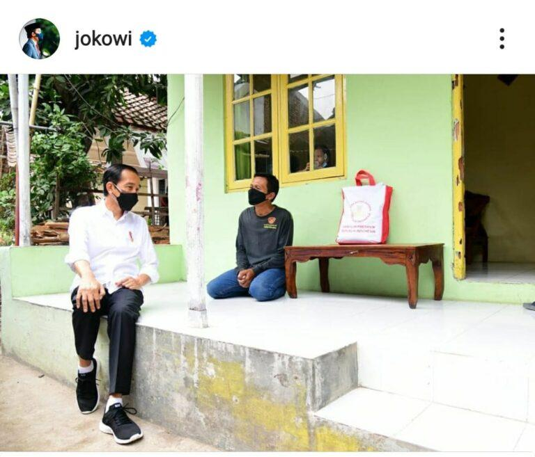 Disaksikan Jokowi Saat Vaksin, Warga Pengampaan Cirebon Senang