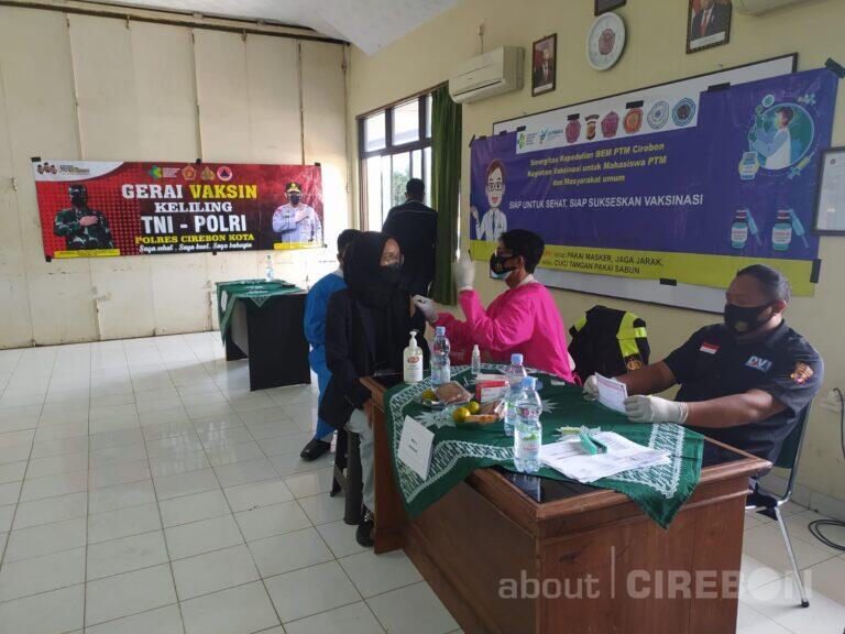 STF Muhammadiyah Cirebon Gelar Vaksinasi Covid-19 untuk Mahasiswa, Dosen, dan Umum