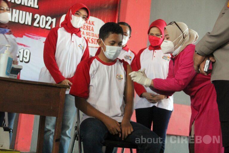 Tiga Ribu Anak di Kabupaten Cirebon Ditargetkan Divaksin Covid-19