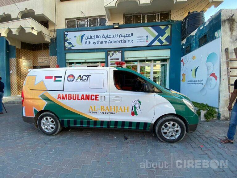 LPD Al Bahjah Bersama ACT Sediakan Ambulans Gratis Untuk Warga Gaza