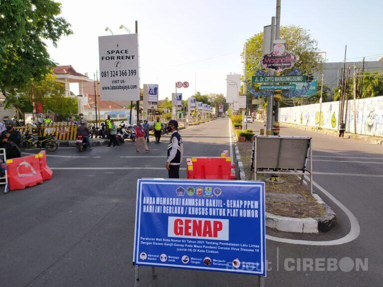 Sekda Kota Cirebon : Pemberlakuan Ganjil Genap di Kota Cirebon Efektif