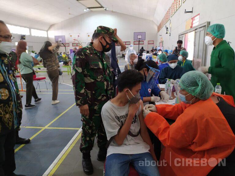 Target Vaksinasi di Kota Cirebon 4.000 perhari