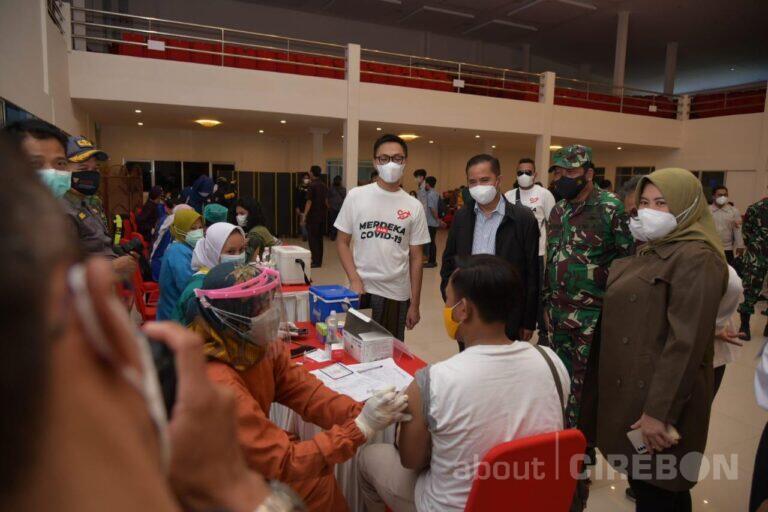 Aliansi Gerakan Mahasiswa Cirebon dan Organisasi Mahasiswa Daerah Cirebon Apresiasi Program Vaksinasi Massal