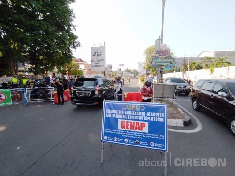 Kapolres Cirebon Kota: Pemberlakuan Ganjil Genap Turunkan Mobilitas Masyarakat