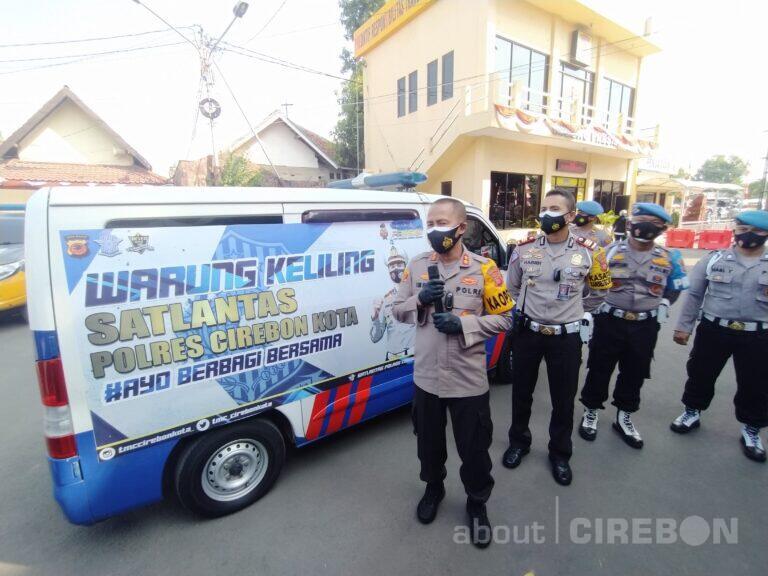 Warung Keliling Satlantas Polres Cirebon Kota, Boleh Ambil Sendiri Sesuai Kebutuhan