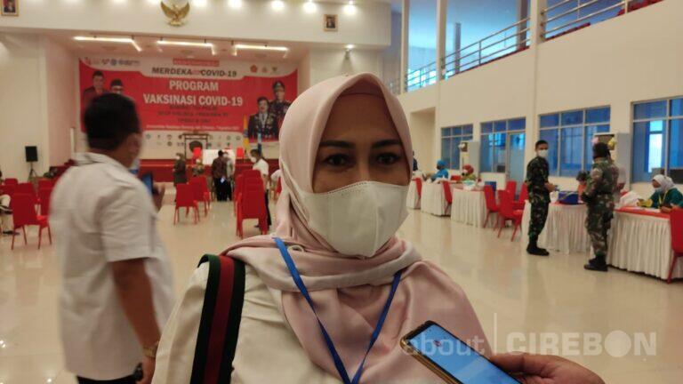 Vaksinasi di Kabupaten Cirebon Baru Capai 17 Persen