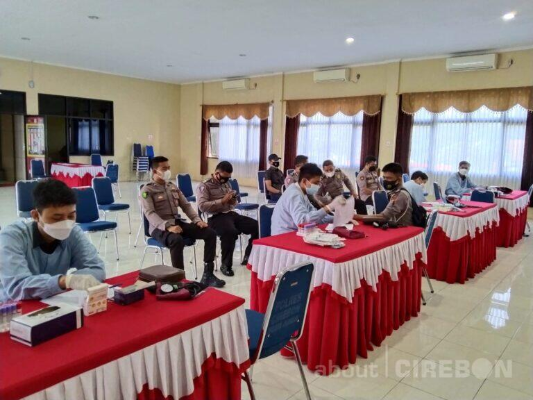 52 Personil Polresta Cirebon Donor Plasma Konvalesen