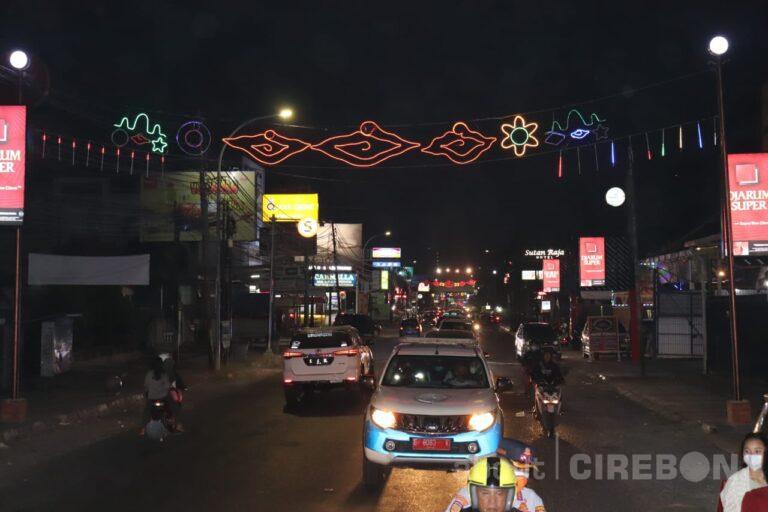 Wah, Lampu Bondu Hiasi Sepanjang Jalan Tuparev untuk Daya Tarik Wisatawan