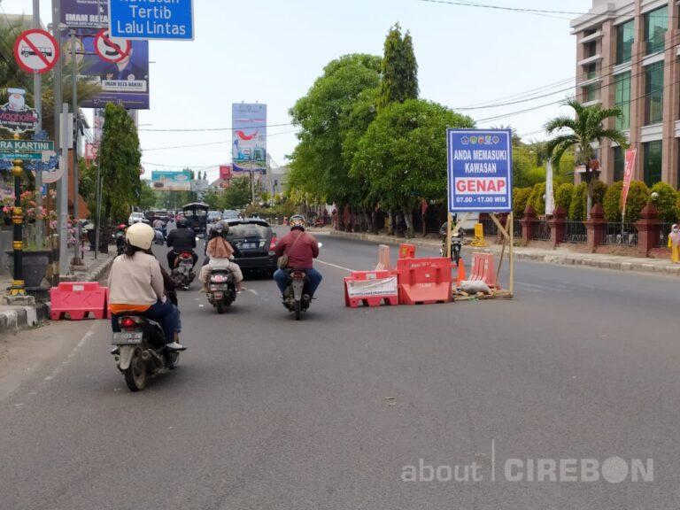 Mulai Besok Kebijakan Ganjil-Genap di Kota Cirebon Diistirahatkan Sementara, ini Alasannya