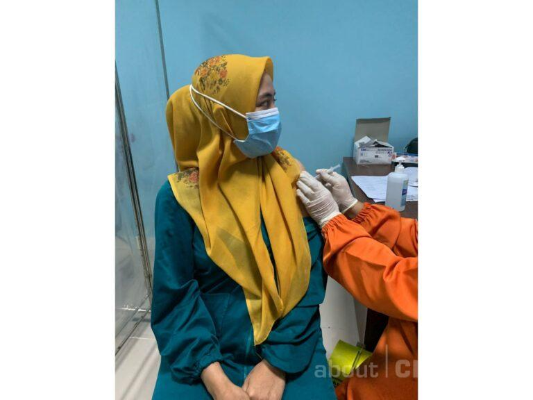 Vaksinasi Booster Untuk Nakes di Kota Cirebon Sudah Berjalan