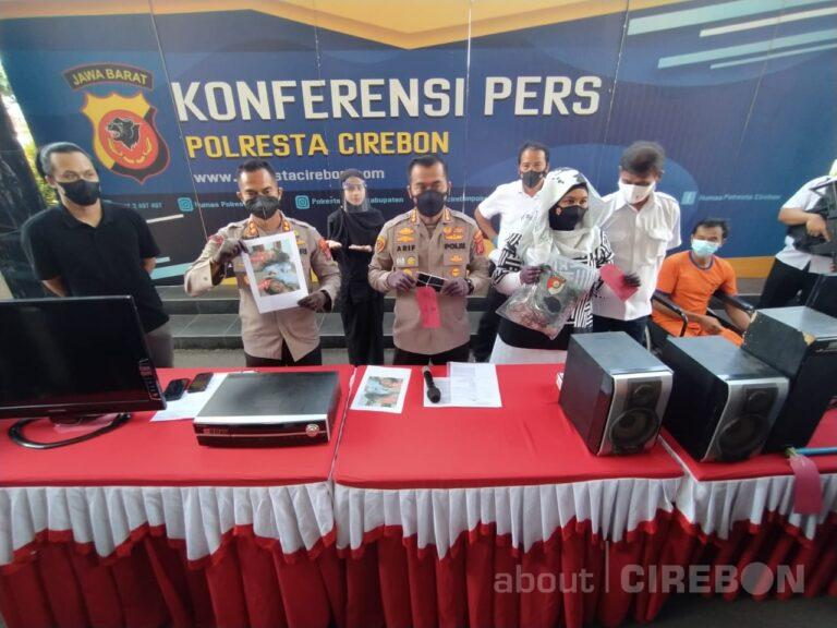 Satreskrim Polresta Cirebon Tangkap Tersangka Pencurian dan Pembunuhan Guru Ngaji