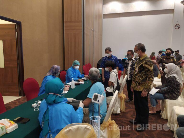 Vaksinasi COVID-19 di Kota Cirebon Sudah Mencapai 62 Persen
