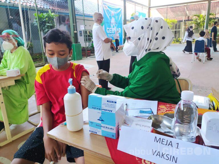 Gebyar Vaksinasi di Kota Cirebon untuk Persiapan Pembelajaran Tatap Muka