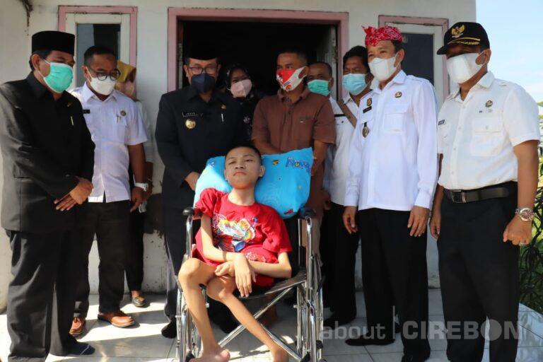 "Pengidap ""Cerebral Palsy"" Asal Gempol Dirujuk ke RSHS Bandung"