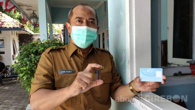 Blanko KTP Elektronik di Kantor Disdukcapil Kota Cirebon Cukup Hingga Akhir Tahun 2021