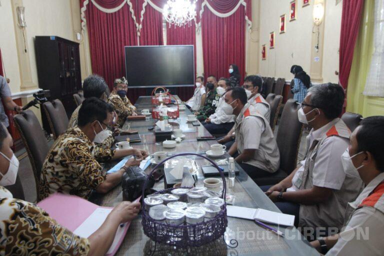 Bupati Cirebon dan BBWSCC Bahas Antisipasi Banjir dan Kekeringan