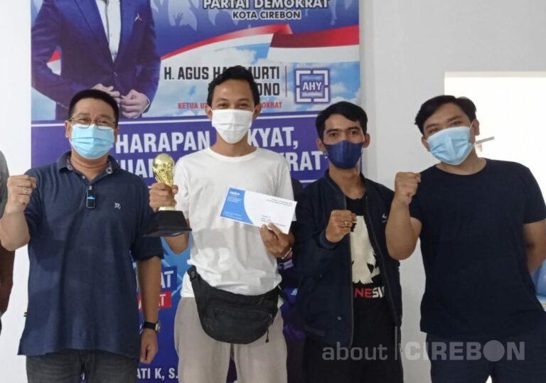 Libatkan Jurnalis dalam HUT ke-20, Partai Demokrat Gelar Turnamen PS