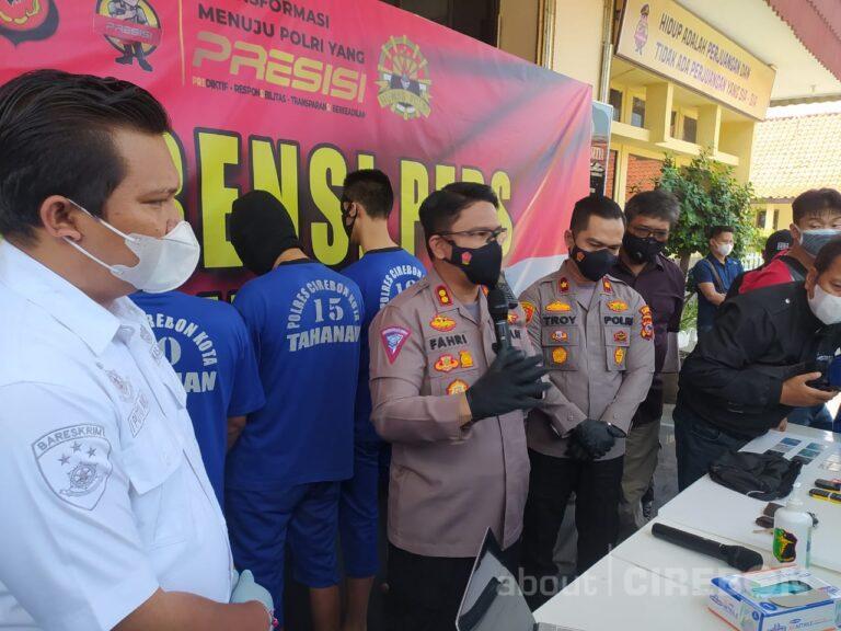 Satreskrim Polres Cirebon Kota Ringkus Pelaku Modus Ganjal ATM