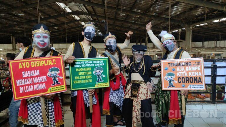 Gandeng Punakawan, Sosialisasikan Pentingnya Protokol Kesehatan di Pasar Tradisional