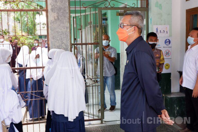 Vaksinasi Pelajar di Kota Cirebon untuk Persiapan Pembelajaran Tatap Muka Sudah Dimulai