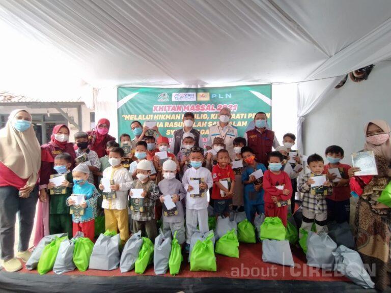 Yayasan Wani Amal Cirebon Gelar Khitan Massal