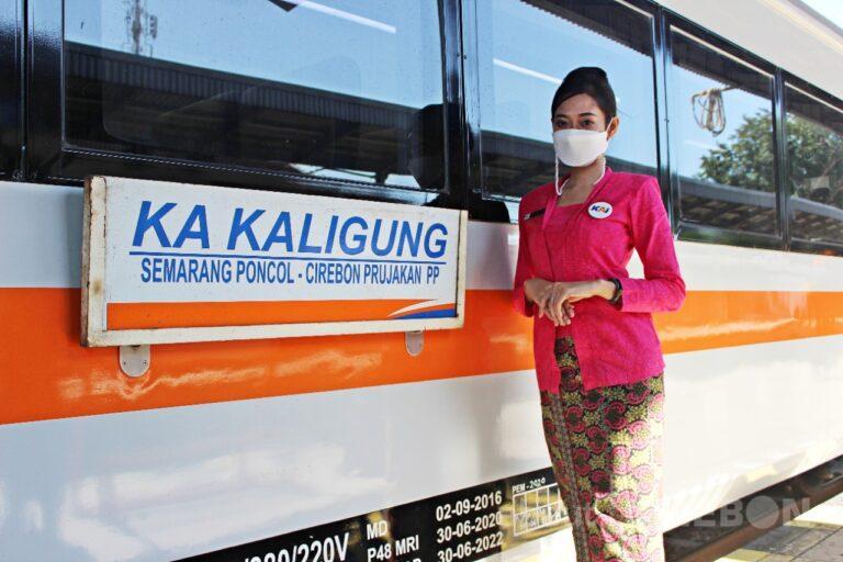 Kereta Api Jurusan Semarang – Cirebon, KA Kaligung Kembali Beroperasi