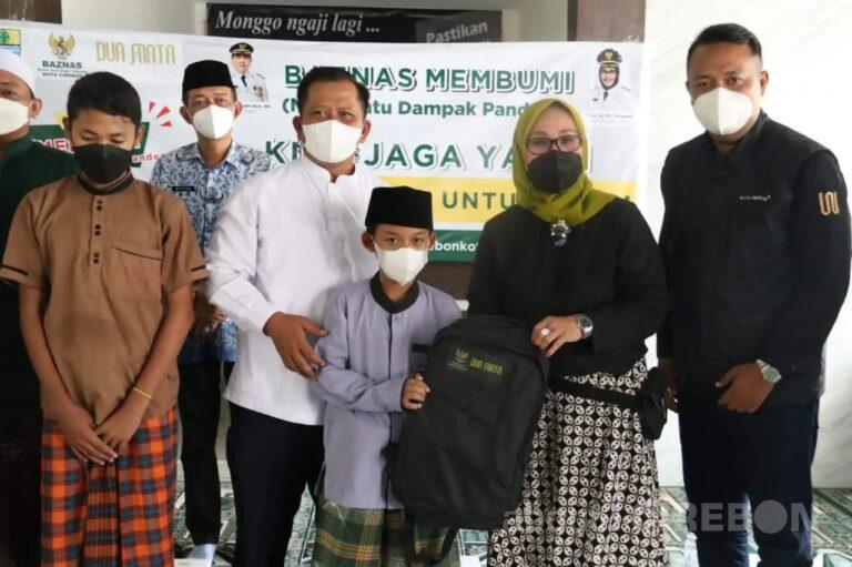 Baznas Kota Cirebon Salurkan Bantuan untuk Anak Yatim