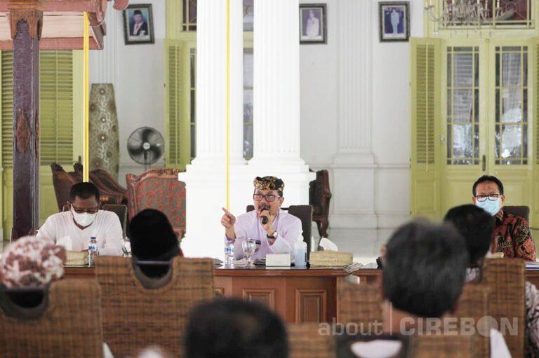 Bupati Cirebon : Dinas Harus Berinovasi, Penyerapan Anggaran Tahun 2021 Baru 54% Saja