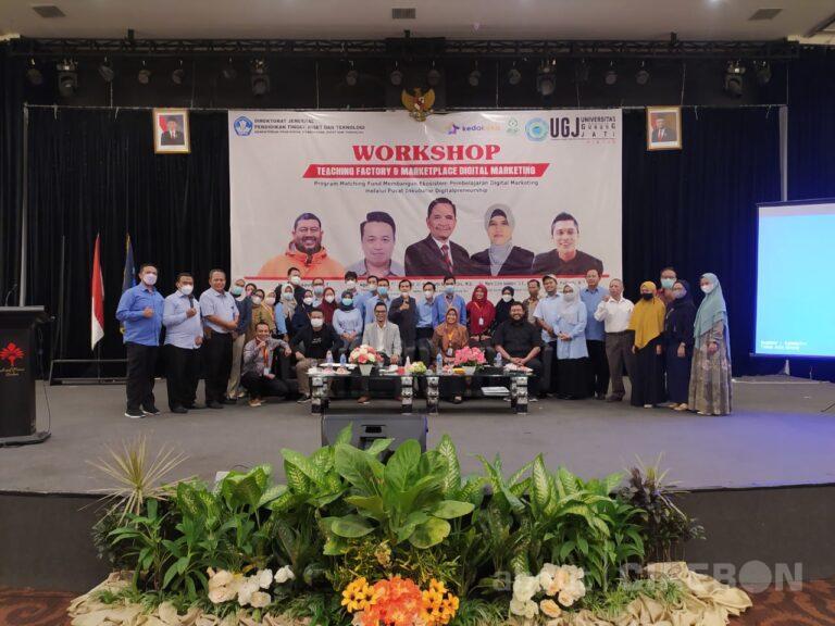 Akselerasi Implementasi Kampus Merdeka, Tim Program Matching Fund UGJ Gelar Workshop